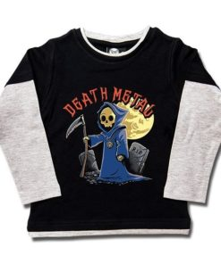 T-shirt skate enfant Death Metal