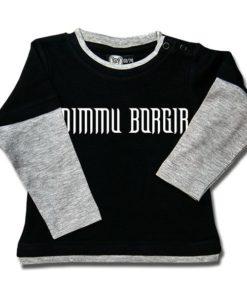 T-shirt Skate Bébé Dimmu Borgir (Logo)