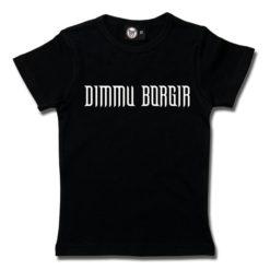 T-Shirt Fille Dimmu Borgir (Logo)