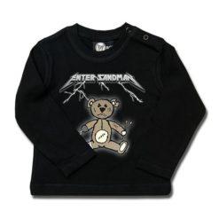T-shirt bébé manches longues Enter Sandman (Metallica Tribute)