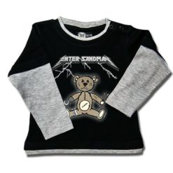 T-shirt Skate Bébé Enter Sandman (Metallica Tribute)