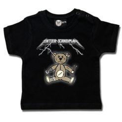 T-shirt bébé Enter Sandman (Metallica Tribute)