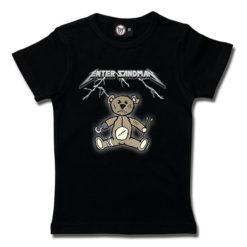 T-Shirt Fille Enter Sandman (Metallica Tribute)