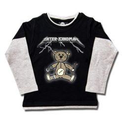 T-shirts Skate enfant Enter Sandman (Metallica Tribute)
