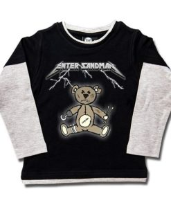 T-shirts Skate enfant Enter Sandman (Metallica Tribute)