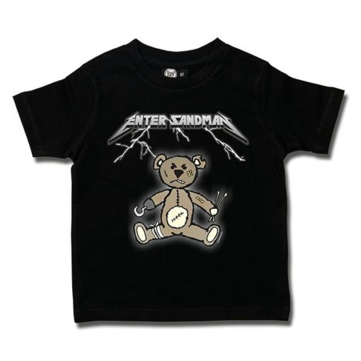 T-shirt Enfant Enter Sandman (Metallica Tribute)