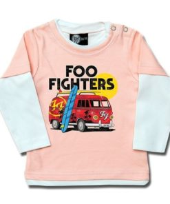 T-shirt Skate Bébé Foo Fighters (Van)
