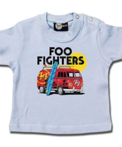 T-shirt bébé Foo Fighters (Van) bleu