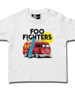 T-shirt bébé Foo Fighters (Van) blanc