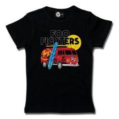 T-Shirt Fille Foo Fighters (Van)