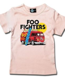 T-Shirt Fille Foo Fighters (Van)