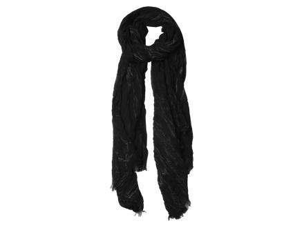Foulard vintage noir