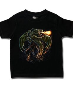 T-shirt Enfant Green Dragon