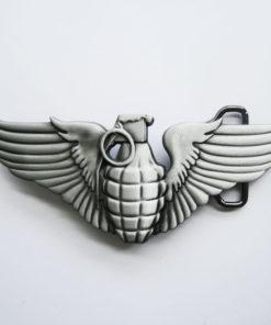 Boucle de ceinture Grenades