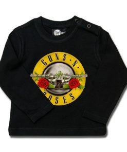 T-shirt bébé manches longues Guns 'n Roses (Bullet)