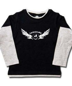 T-shirt skate enfant hardrock baby