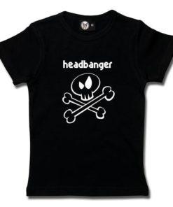 T-Shirt Fille headbanger (invers)