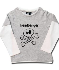 T-shirt skate enfant headbanger (invers)