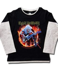 T-shirts Skate enfant Iron Maiden (Fear Live Flame)