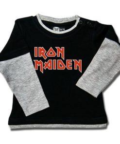 T-shirt Skate Bébé Iron Maiden (Logo)