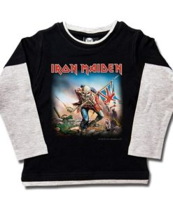 T-shirts Skate enfant Iron Maiden (Trooper)