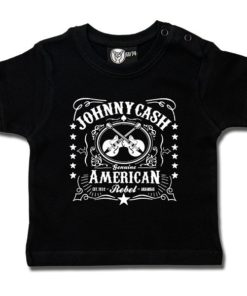 T-shirt bébé Johnny Cash (American Rebel)