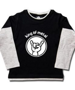 T-shirt skate enfant king of metal