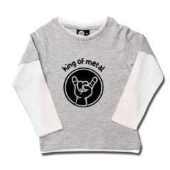 T-shirt skate enfant king of metal