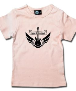 T-Shirt Fille loud and proud