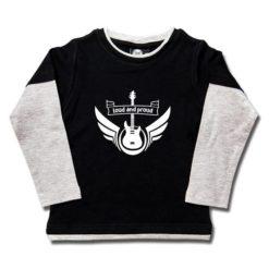 T-shirt skate enfant loud and proud