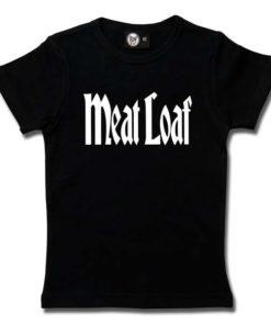T-Shirt Fille Meat Loaf (Logo)