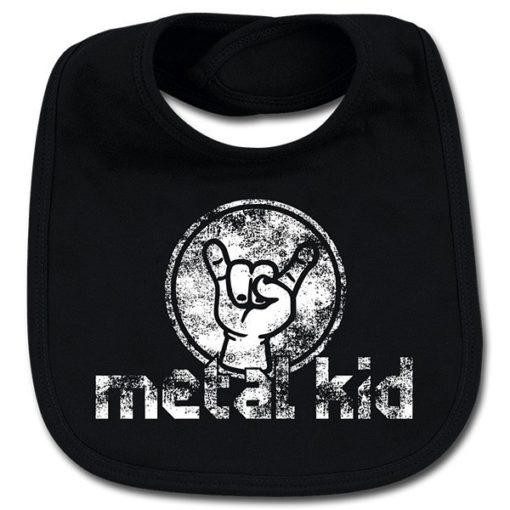 Bavoir METAL KID VINTAGE