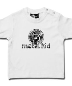 T-shirt bébé metal kid Vintage