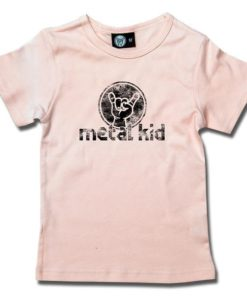 T-Shirt Fille metal kid (Vintage)