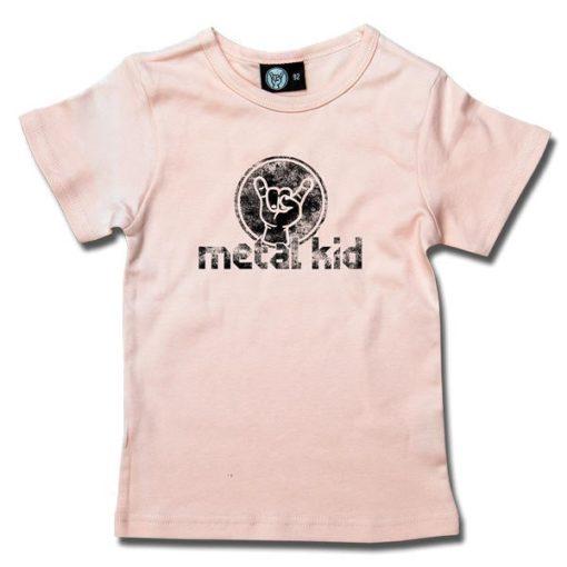T-Shirt Fille metal kid (Vintage)