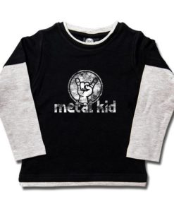 T-shirt skate enfant metal kid (Vintage)