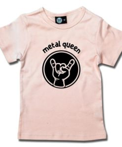 T-Shirt Fille metal queen