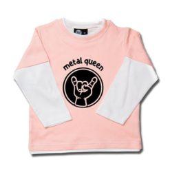 T-shirt skate enfant metal queen