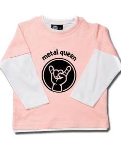 T-shirt skate enfant metal queen