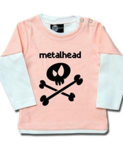 T-shirt Skate Bébé metalhead