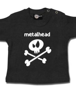 T-shirt bébé metalhead