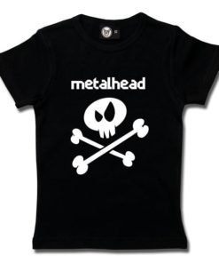 T-Shirt Fille metalhead