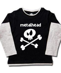 T-shirt skate enfant metalhead