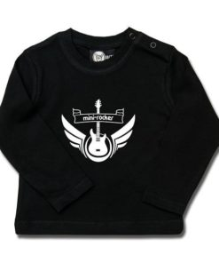 T-shirt bébé manches longues mini-rocker