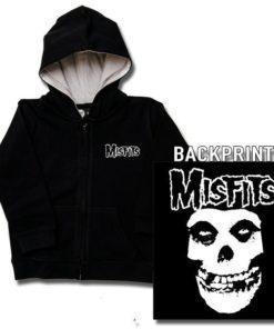 Veste enfant Misfits (Logo Skull)