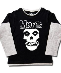 T-shirts Skate enfant Misfits (Logo Skull)