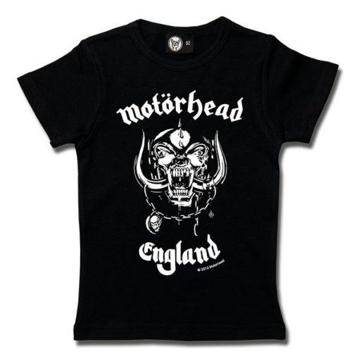T-Shirt Fille Motörhead (England)