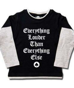 T-shirts Skate enfant Motörhead (Everything Louder...)