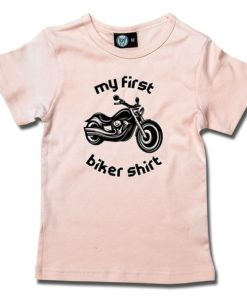 T-Shirt Fille my first biker shirt