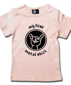 T-Shirt Fille my first metal shirt